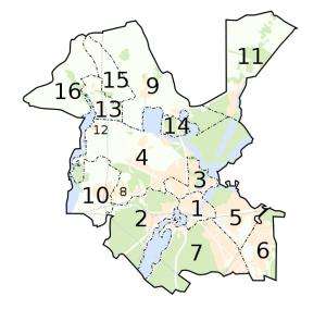 Potsdam Karte Stadtteile.Stadtteile Von Potsdam Potsdamwiki